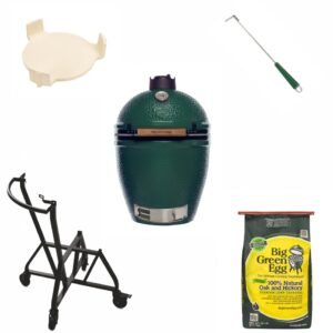 set gratar big green egg large